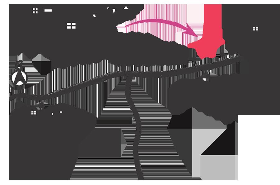 六甲山荘 リジョイスガーデン 地図